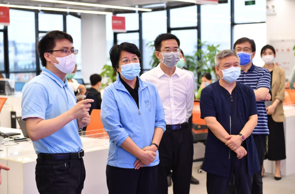 海南省委常委走访众合云科调研企业复工复产工作
