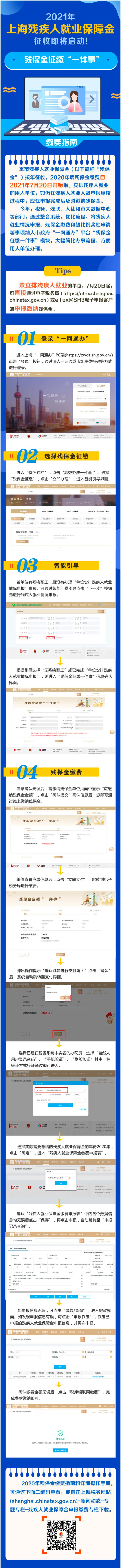 上海残保金申报